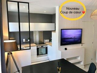 Superbe Appt RDC Lorient centre tout équipé