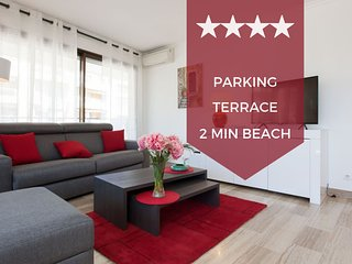 ❤ 2-bedroom, 2 min. from the beaches. Ideal for families ❤ With a terrace !