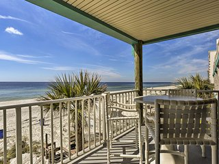 NEW! Oceanfront Panama City Beach Condo w/Pool!