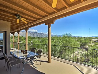 NEW! Private Tucson Home w/Panoramic Mtn View&Pool