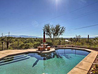 Updated Tucson Home w/ Panoramic Mtn Views & Pool!