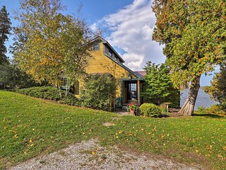 Lake Champlain Cottage w/Kayak & Private Dock