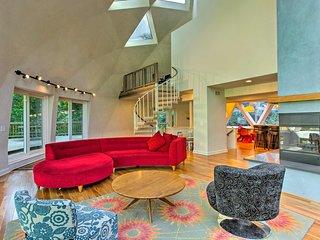 Spectacular Eden Prarie Geo-Dome House w/ Gardens!