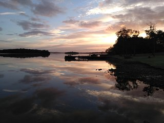 Reflections on Lough Erne