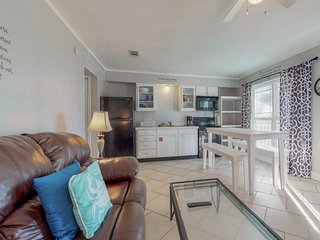 NEW LISTING! Beautiful coastal pet-friendly condo with sound and ocean views