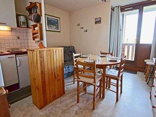 Coquet et confortable studio cabine 4 personnes situe au pied des pistes