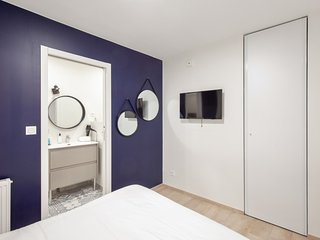 Beautiful and modern flat for 4 near Bastille