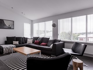 Luxury two story house , only 10 min drive from downtown Reykjavik