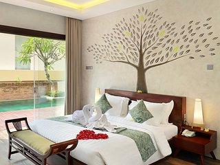2 Bedroom Villas Private Pool with Ocean View on Rooftop