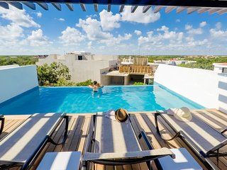 Modern 2 Bedroom at Aldea Zama, up to 4 people / Quinto Sol 12