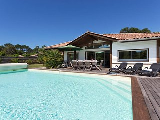 4 bedroom Villa in Moliets-et-Maa, Nouvelle-Aquitaine, France : ref 5434992