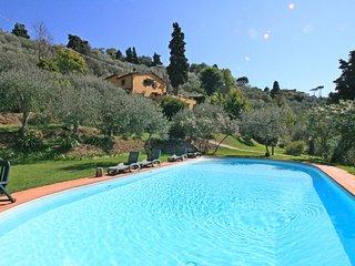 5 bedroom Villa in Mommio Castello, Tuscany, Italy : ref 5685181