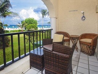 Last Xaman Ha unit available for New Years week!  3 Bdrm Oceanfront XH 7009