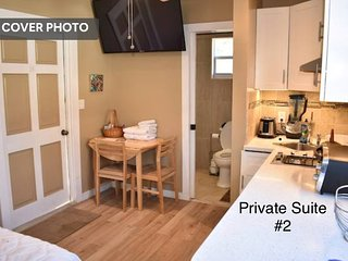 Perfect Location Private Suite w/ Deck