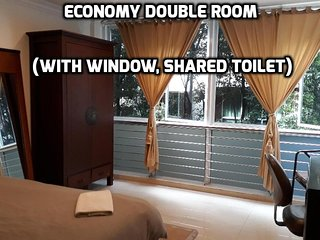City Central Double Room (Shared Toilet With One Room)