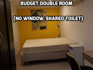 City Central Economy Double Room (No Window & Shared Toilet With One Room)