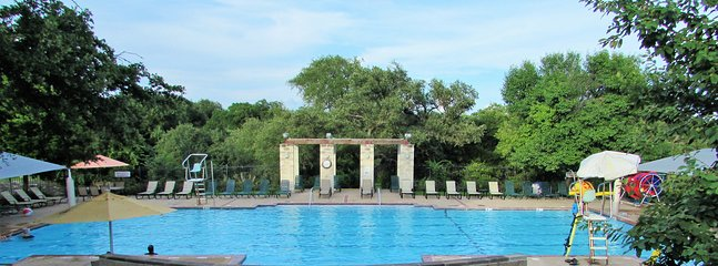 One of Two Pools! This One Is Five Blocks From the House. We Provide Pool Key, Towels and Floaties