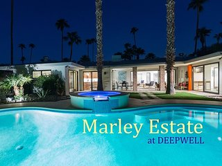 Marley Estate at Deepwell - Very Private Palm Springs Pool Home!