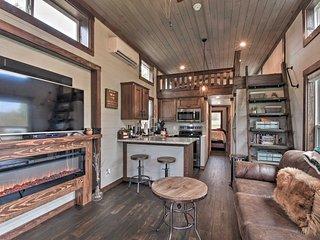Modern Morganton Tiny Home w/Hot Tub Access!