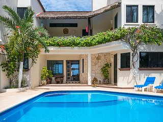 Oceanfront villa located in the heart of Akumal,minutes from Akumal Bay Beach