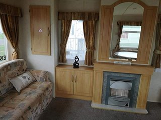 3 bedroomed 8 berth caravan available to rent