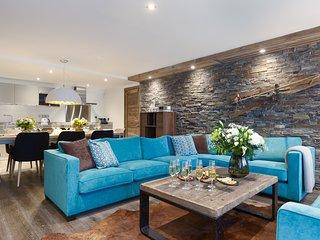 B201 - Bel appartement avec cheminée - Accès spa et piscine