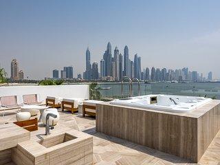Five hotel luxury beach front villa, Palm Jumeirah