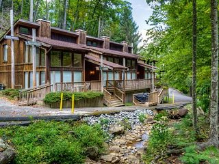 Creekside Family-Friendly Townhome Near Ober Gatlinburg w/ Gas Grill & Free WiFi
