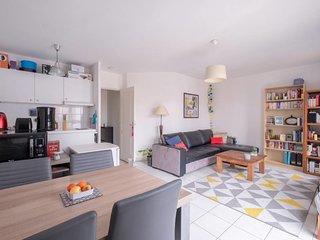 New! A bright flat in Lyon