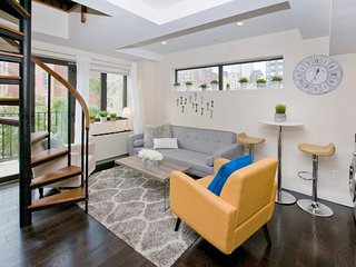 Duplex in Hell's Kitchen steps away from Central Park