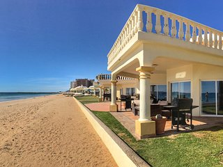 Stunning 3 Bedroom Beach Villa on Sandy Beach at Las Palmas Beachfront Resort V2