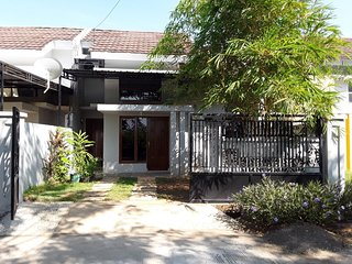 House near Grand Mall Maros, airport, & ticket counter of buses to Toraja