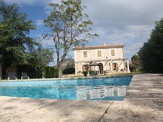 U Vilar de Pollensa. Finca rustica con piscina