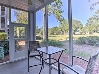 Sunset Beach Condo w/Golf Course View-2 Mi to Pier