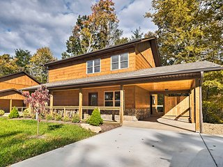 NEW! Downtown Gatlinburg Home w/Theater & Hot Tub