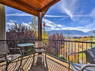 Eden Townhome w/Mtn View + Shuttle to Powder Mtn!