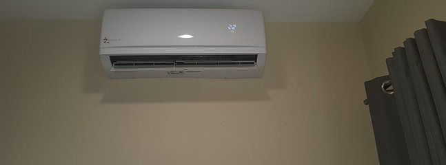 Air conditioning in the rooms
