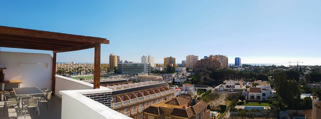 Panoramic views of the Urbanization of Roquetas