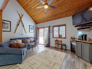 NEW LISTING! Woodland family home w/deck & fireplace-1 dog OK, near Breckenridge