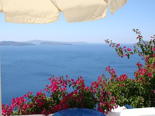 Own balcony with Caldera view