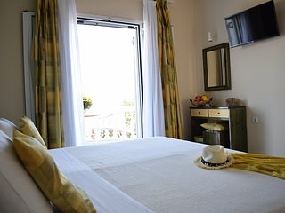 B&B Christina beachfront rooms & taverna, in Petriti Corfu Room 1 out of 8