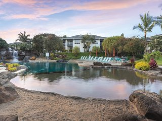 2 Bedroom Kauai Presidential Unit with 2 pools, 3 hot tubs, tennis court & more