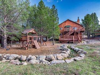 Woodland Retreat w/ Private Multi-Level Deck & Backyard Creek