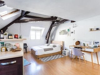 Charming attic studio in the heart of the city