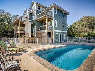 OBX Dream (House) | 1920 ft from the Beach | Private Pool | Southern Shores