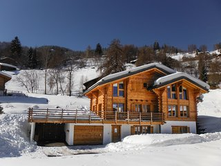 Chalet Mont-Gele for 10 people with 15% skipass discount