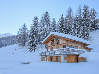 Chalet Scherpie - a luxury five-bedroom, five bathroom chalet with sauna & views