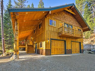 NEW! Garden Valley Cabin w/Access to Hot Springs!