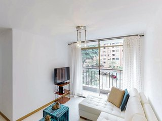 Apartment in the heart of the city w/ a shared pool, sauna, & playground