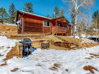 NEW LISTING! Rustic cabin with free WiFi and woodstove, wildlife viewing